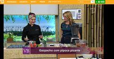 #healthyfood #healthyrecipe #cozinhanutritiva #saudavelsemneura Receita da Chef Izabela Braga no Programa Você Bonita | TV Gazeta | Gazpacho com Pipoca Picante | Com Carol Minhoto | Março de 2016.