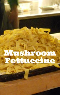 Clinton Kelly whipped up a delicious Mushroom Fettuccini Alfredo recipe on The Chew. http://www.foodus.com/the-chew-clinton-kelly-mushroom-fettuccini-alfredo-recipe/