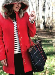 JCrew red vail park