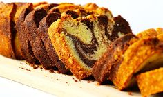 Easy Marble Cake – Queen of Food Marble Pound Cakes, Marble Cake, Romanian Desserts, Romanian Food, Sara Lee Pound Cake, Cake Mixture, Piece Of Cakes, Vegan Sweets, Cake Pans