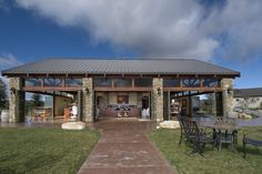 The Tasting Room at Calcareous in Paso Robles Wine Country-great view