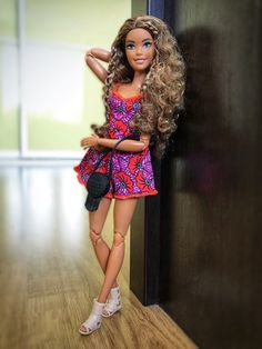 Barbie Life, Barbie And Ken, Barbie Dolls, Doll Crafts, Diy Doll, Afro, Barbies Pics, Chelsea Doll, Monster High Birthday