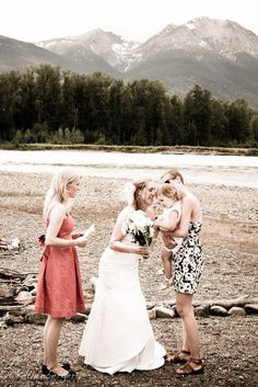 Wedding in Smithers, British Columbia