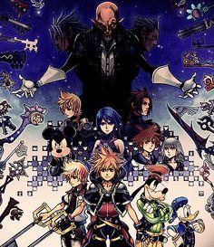 ♚ - Kingdom Hearts 2.5 ReMix Official Box Art