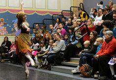Denver Post: From the Page to the Stage event with Colorado Ballet's Studio Company dancers at the Children's Museum