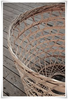 love open weave baskets....like loads!