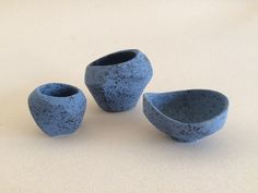 Pinch Pots by Lalage Hunter