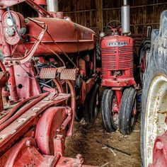 When they were new, they made life a little easier. Now days they just sit in barns across the country side. #mbf #mouzinbrothersfarms #farmlife #farmall #farmalltractors #internationaltractor #cannonphotography #whatdrivesyou #whatgetsyououtdoors #mylifeoutdoors
