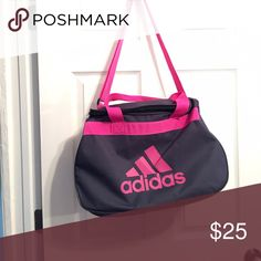 Great adidas gym bag Great gym Adidas gym bag large inside no compartments Adidas Bags Crossbody Bags