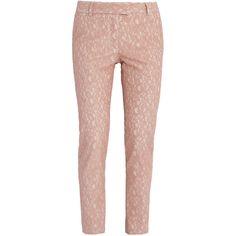 PAUL & JOE Lace Slim Pants ($545) ❤ liked on Polyvore
