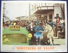 Something of Value Movie Poster 1962 Kenya