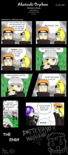 Akatsuki orphan comic