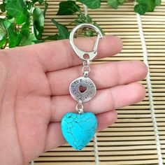Follow your heart sleutelhanger met tekst en hart | Made By Flor Accessoires
