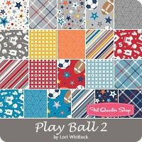 Play Ball 2 by Lori Whitlock for Riley Blake Designs - February 2016