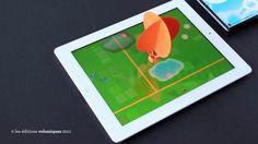 A book + iPad + popUp