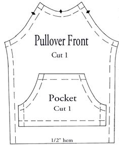 Pullover front