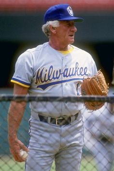 "Bob Uecker ""The Voice of the Brewers"" my man.grew up with him. He goes together like gpa b, the rocker, am radio, and me"