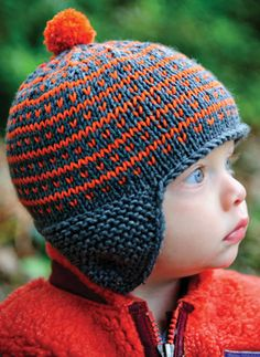 Simply Fair Isle Hat Pattern