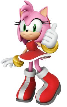 Amy Rose Sonic the Hedgehog Amy Rose, Sonic Birthday Parties, Sonic Party, Sonic The Hedgehog, Shadow The Hedgehog, Sonic And Amy, Sonic Boom Amy, Birthday Greeting Cards, Birthday Greetings