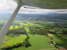 Dag 6 #synchroonkijken klein uitzicht (vanuit klein vliegtuig)