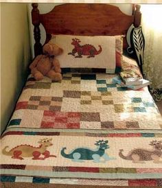 Daring Dragons - by The Birdhouse -Quilt Pattern