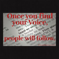 The Los Angeles Method Workshops: Find your Voice and people will Follow.  The Los A...