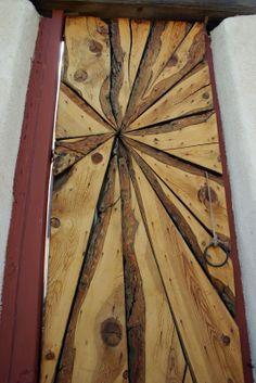 wood door,