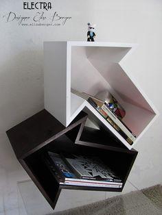 """Scaffali componibili """"Electra"""" // Modular shelves """"Electra"""" by Elisa-Berger via it.dawanda.com"""