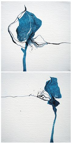 Spring buds is part of drawings - Apologies for anyone who has emailed me and I have not got back to yet I hope to answer my emails tomorrow! I am off to USA this week for a fortnight road trip I was hoping to update the shop Abstract Watercolor Art, Abstract Flowers, Watercolor And Ink, Watercolor Paintings, Inspiration Art, Art Inspo, Art Graphique, Botanical Art, Collage Art