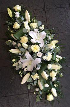 Untitled Casket Flowers, Grave Flowers, Cemetery Flowers, Church Flowers, Funeral Flowers, Wedding Flowers, Funeral Floral Arrangements, Modern Flower Arrangements, Funeral Caskets