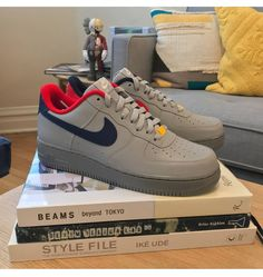 Air force 1 low ID - 📷 thank you! Nike Shoes Blue, Cute Nike Shoes, Nike Shoes Air Force, Nike Shoes Outfits, Air Jordan Shoes, Sneakers Mode, Sneakers Fashion, Fashion Shoes, Fashion Fashion