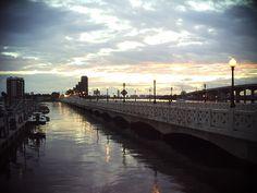 Venetian Causeway to Miami Beach