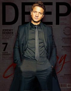 Ha... There's a pun to be made with the word Deep behind him...
