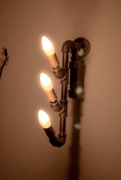 Signal Post Design Industrial Wall Lamp Lighting by ferrusigneus, $330.00