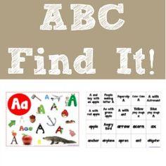 All ABCs ~ Free Alphabet Printables