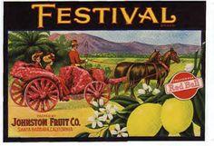 Johnston Fruit, CA