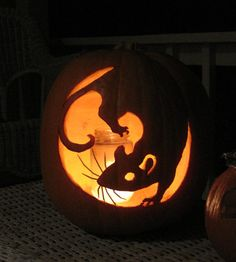 Well Carved Pumpkin Carvings
