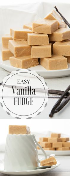 Try this AMAZING easy Vanilla Fudge recipe. So simple on the stove or in the Thermomix.