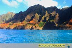 #Napali Coast em #Kauai: Um daqueles lugares que te fazem perder o fôlego  #Viagem #MauOscar #Havaí