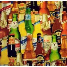 Tecido para Patchwork - International Beer