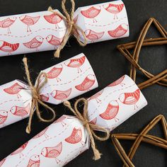 Fill Your Own Red Robin Christmas Cracker from notonthehighstreet.com