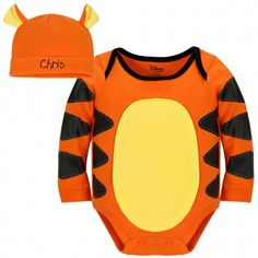Disney Cuddly Bodysuit™ - Personalizable Tigger Costume and Cap  $19.95