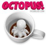 Octopus in your coffee mug. A fun novelty  gift.