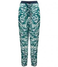 Mimosa Floral Printed Trouser
