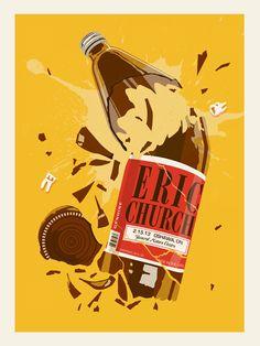 Methane Studios - Eric Church Poster