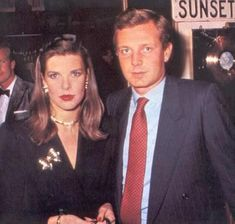 Princess Caroline of Monaco and the late Stefano Casiraghi