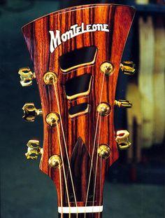 Guitar Luthier, John Monteleone