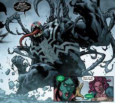 Venom: Space Knight #9 (2016)  written by Robbie Thompson art by Kim Jacinto…