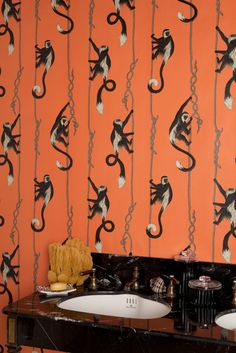 katie-scott:  I worked on a new wallpaper collection for House of Hackney