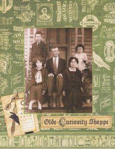 Cook Family 1920 - Front - Scrapbook.com